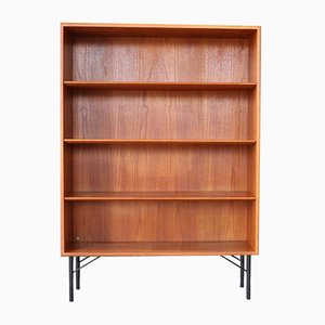 Teak Bookcase by Børge Mogensen for Søborg Møbelfabrik, 1960s