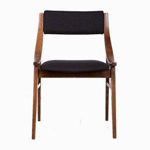 Polish Rosewood Ski Jumper Dining Chairs from Zamojska Furniture Factory, 1960s, Set of 6