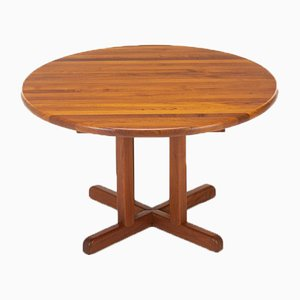 Danish Solid Teak Dining Table, 1960s