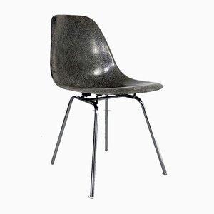 Chaise d'Appoint DSX Grise par Charles & Ray Eames pour Herman Miller, 1970s