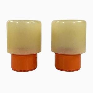 Lampes de Bureau KD32 Tic Tac par Giotto Stoppino pour Kartell, 1970s, Set de 2