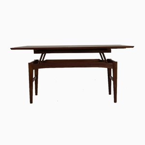 Höhenverstellbarer Dänischer Tisch von Niels Bach für Randers Møbelfabrik, 1960er
