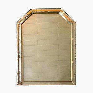 Specchio con bordo sfaccettato, Belgio, anni '90