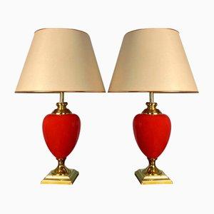 Lampes de Bureau de Ancemont, 1980s, Set de 2