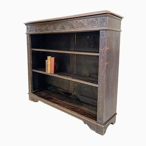 Victorian Gothic Revival Bookcase