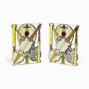 Bookends by Piero Fornasetti, 1960s, Set of 2