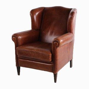 Vintage Sheep's Leather Armchair, 1970s