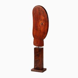 Rolf Hans, Kopf XII, Wooden Sculpture, Poesie der Dinge