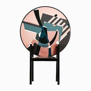 Italienischer Zabro Stuhl von Alessandro Mendini für Zanotta, 1980er