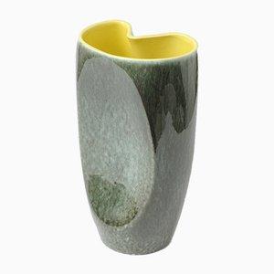 Belgische Keramikvase von Alexandre de Wemmel, 1950er
