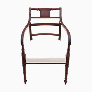 Chaise Géorgienne Elbow / Carver / Desk, Circa 1800