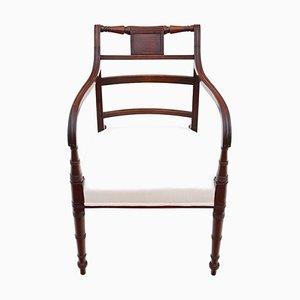 Georgian Elbow / Carver / Desk Chair, Circa 1800