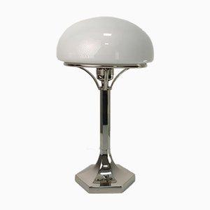 Lampada da tavolo di Josef Hoffmann per Woka Wiener Werkstätte, anni '80
