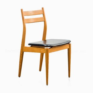 Ash Dining Chairs, 1960s, Set of 4