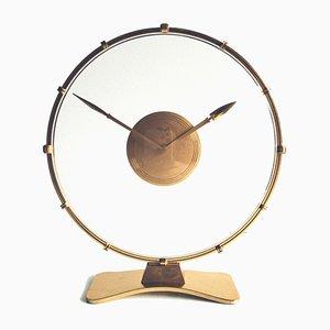 Horloge de Table Art Déco par Heinrich Möller pour Kienzle International, 1930s