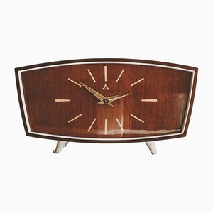 German Table Clock from Ruhla UMF, 1960s