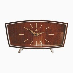 Orologio da tavolo di Ruhla UMF, Germania, anni '60
