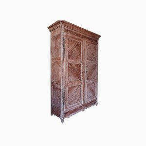Lorrainois Oak & Cherry Wardrobe Cabinet