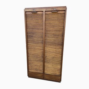 French Tambour Cabinet, 1950s
