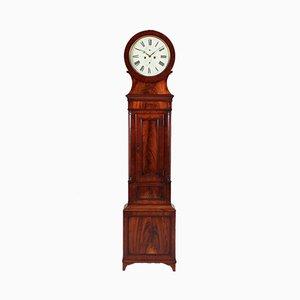 Antique Scottish Mahogany Grandfather Clock, 1825