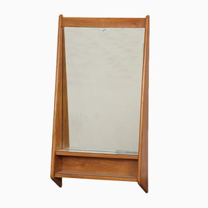 Czech Wood Mirror, 1960s