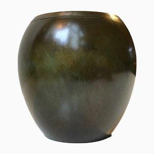 Art Deco Bronze Vase from Just Andersen, 1930s