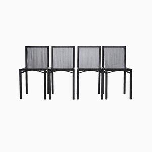 Slat Esszimmerstühle von Ruud Jan Kokke für Metaform, 1980er, Set of 4