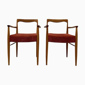 Dining Chairs by Karel Vycital, 1960s, Set of 2