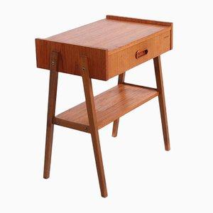 Table de Chevet Vintage, Danemark, 1960s