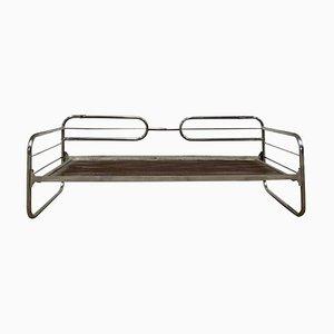 Vintage Sofa mit Gestell aus Stahlrohr