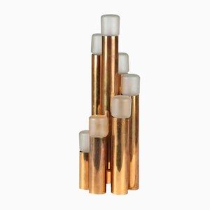 Organische Vintage Messing Tischlampe