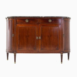 19th Century French Mahogany Side Cabinet