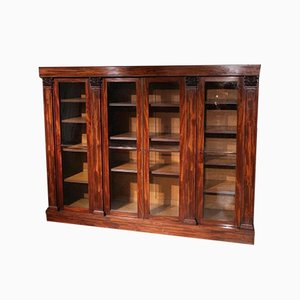 William IV Mahogany Bookcase