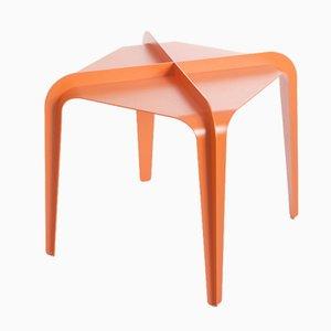 Tavolo Hafucha X arancione di Gilli Kuchik & Ran Amitai, 2015