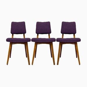 Chaises de Salon, 1960s, Set de 3