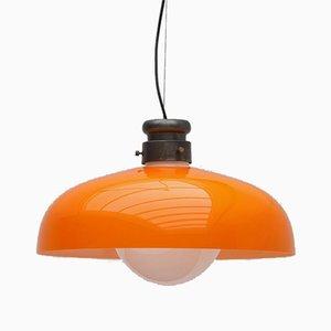 Deckenlampe von Alessandro Pianon für Vistosi, 1960er