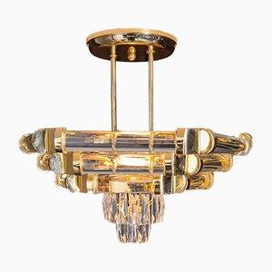 Crystal Ceiling Lamp by Nachtmann Leuchten, 1978