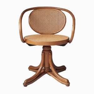 No. 5501 Bentwood Swivel Chair from Thonet, 1980s