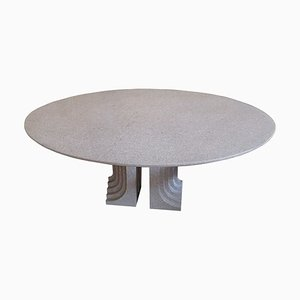 Granite Samo Dining Table by Carlo Scarpa for Studio Simon, 1970s