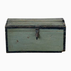 Antique Bohemian Wooden Chest