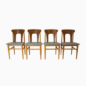 Rosewood Dining Chairs from Elliots of Newbury, 1960s, Set of 4