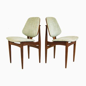 Rosewood EON Dining Chairs from Elliots of Newbury, 1960s, Set of 6