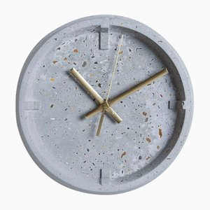 Index Clock Weathered Stones by Room-9