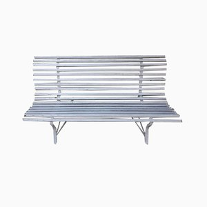 Garden Bench with Slats, 1930s
