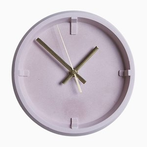 Index Clock Pink by Room-9
