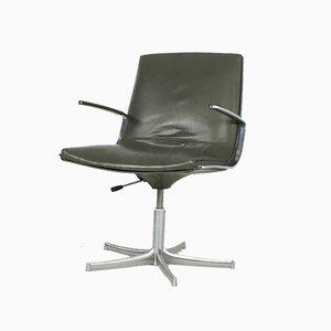 Logos Swivel Chair by Bernd Munzebrock for Walter Knoll, 1970s