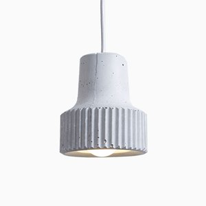 Cog Light Grey Pendant by Room-9