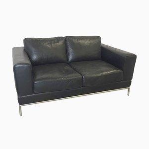 Vintage 2-Sitzer Sofa aus Leder