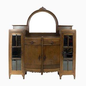 Art Deco Amsterdam School Bar Cabinet from J.Th. Drilling, 1920s