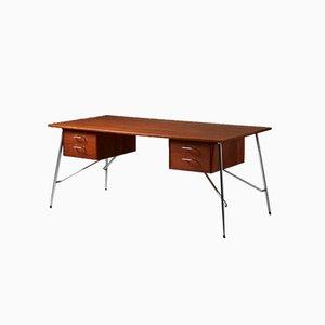 Modell 202 Schreibtisch von Børge Mogensen für Søborg Furniture Factory, Dänemark, 1953